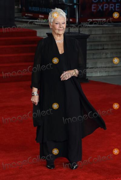Judi Dench Photo - London UK Dame Judi Dench at Murder on the Orient Express - World Premiere at the Royal Albert Hall Kensington Gore London on November 2nd 2017Ref LMK73-J1055-031117Keith MayhewLandmark MediaWWWLMKMEDIACOM