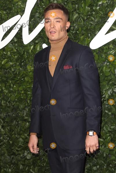Ed Westwick Photo - London UK Ed Westwick at the Fashion Awards 2019 at Royal Albert Hall London December 2nd 2019 Ref LMK73-J5891-031219Keith MayhewLandmark MediaWWWLMKMEDIACOM
