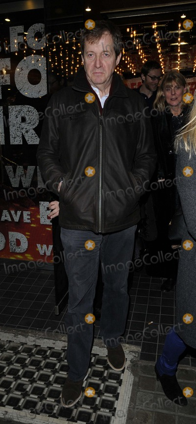 Alastair Campbell Photo - London UK  Alastair Campbellat  the  Macbeth opening  night performance Trafalgar Studios Whitehall London  22nd February  2013Can NguyenLandmark Media