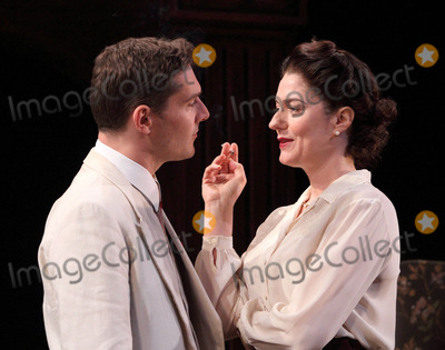 Anna Chancellor Photo - London UK Anna Chancellor and Mark Umbers in the theatre play South Downs held at the Harold Pinter Theatre 23rd April 2012Keith MayhewLandmark Media