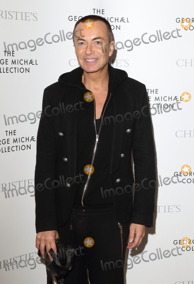 Julien Dor Photo - London UK Julien Macdonald at The George Michael Collection - VIP private view and reception at Christies St James London on March 12th 2019Ref LMK73-J4481-130319Keith MayhewLandmark MediaWWWLMKMEDIACOM