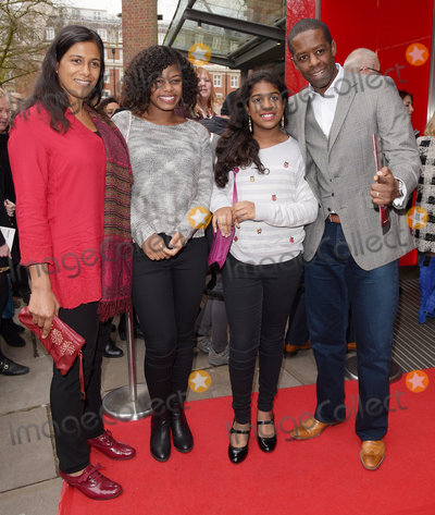 Adrian Lester Photo - London UK  Lolita Chakrabarti Lila Jasmine and Adrian Lester at Matthew Bournes Sleeping Beauty Gala Performance at Sadlers Wells Theatre Rosebery Avenue London on Sunday 6 November 2015 Ref LMK392-59000-071215Vivienne VincentLandmark Media WWWLMKMEDIACOM