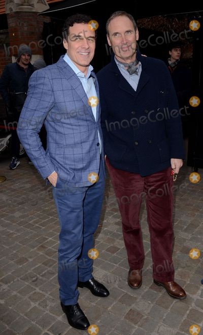 A A Gill Photo - London UK  Andre Balazs and A A Gill attend Working Title Pre BAFTA VIP Brunch at The Chiltern Firehouse Chiltern Street London on Saturday 7 February 2015Ref LMK392 -50541-080215Vivienne VincentLandmark Media WWWLMKMEDIACOM