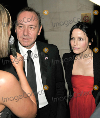 Andrea Corr Photo - London UK Kevin Spacey and Andrea Corr at the Laurence Olivier Awards held at the Grosvenor House Hotel on Park Lane Londn 8th March 2009SydLandmark Media