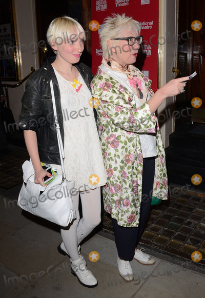 Jenny Eclair Photo - LondonUK  Phoebe Eclair and Jenny Eclair at Great Britain Press Night After Show party at Mint Leaf Restaurant and Bar Suffolk Place Haymarket London on 26th  September 2014  Ref LMK392 -49641-270914Vivienne VincentLandmark Media WWWLMKMEDIACOM
