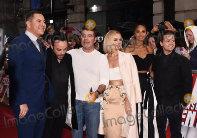 Alesha Dixon Photo - London UK David Walliams Anthony McPartlin Simon Cowell Amanda Holden Alesha Dixon Declan Donnelly at Britains Got Talent photocall held at The London Palladium Argyll Street London on Sunday 29 January 2017Ref LMK392-62709-290117Vivienne VincentLandmark Media WWWLMKMEDIACOM