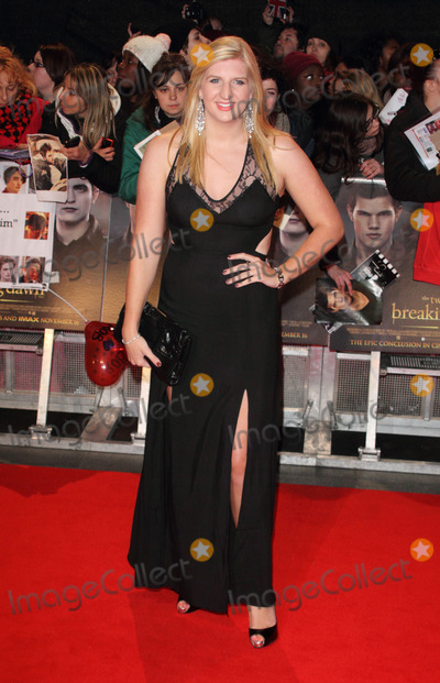 Rebecca Adlington Photo - London UK Rebecca Adlington at the Twilight Saga Breaking Dawn Part 2 UK premiere held at Empire Leicester Square 14th November 2012Keith MayhewLandmark Media