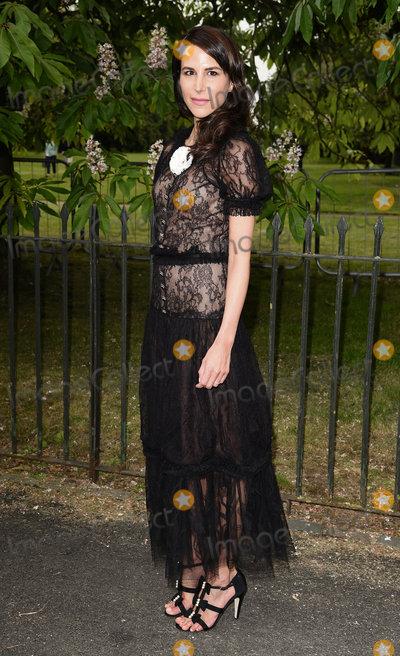 Caroline Sieber Photo - London UK  Caroline Sieber  at The Serpentine Gallery Summer Party at Kensington Gardens London 6th July 2016 Ref LMK392-60819-070716Vivienne VincentLandmark Media WWWLMKMEDIACOM
