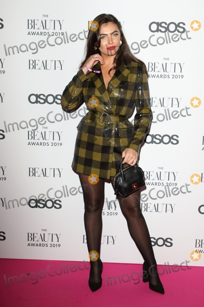 Pink Photo - LondonUK Francesca Allen  at  The Beauty Awards 2019 VIP Pink Carpet at City Central at the HAC Chiswell St London 25th November 2019RefLMK73-2625-261119Keith MayhewLandmark MediaWWWLMKMEDIACOM