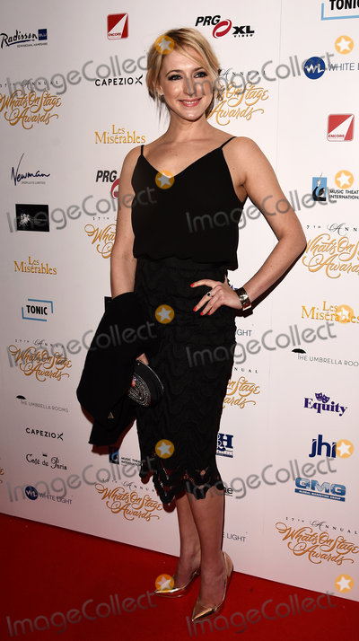 Ali Bastian Photo - London UK Ali Bastian at the 17th Annual Whats On Stage Awards held at The Prince Of Wales Theatre London on Sunday 19 February 2017 Ref LMK392 -61730-200217Vivienne VincentLandmark Media WWWLMKMEDIACOM