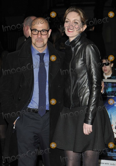 The Muppets Photo - London UK Stanley Tucci  Felicity Blunt at the VIP screening of The Muppets Most Wanted at The Curzon Mayfair in London on March 24 2014Ref LMK315-47972-250312Can NguyenLandmark MediaWWWLMKMEDIACOM
