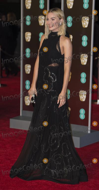 Margot Robbie Photo - London UK Margot Robbie at  the EE British Academy Film Awards (BAFTA) held at Royal Albert Hall on February 18 2018 in London EnglandRef LMK386-J1608-210718GARY MITCHELLLandmark MediaWWWLMKMEDIACOM