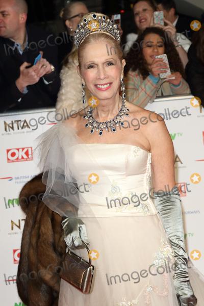 Colin Campbell Photo - LondonUK Lady Colin Campbell   at the National Television Awards 2016 Red Carpet arrivals at the O2 London 20th January 2016 RefLMK73-59159-210116 Keith MayhewLandmark Media  WWWLMKMEDIACOM