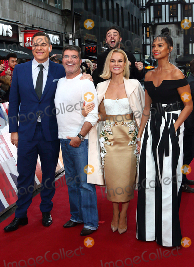 Alesha Dixon Photo - London UK David Walliams Simon Cowell Amanda Holden Alesha Dixon  at Britains Got Talent photocall held at The London Palladium Argyll Street London on Sunday 29 January 2017Ref LMK73-62720-290117Keith MayhewLandmark Media  WWWLMKMEDIACOM