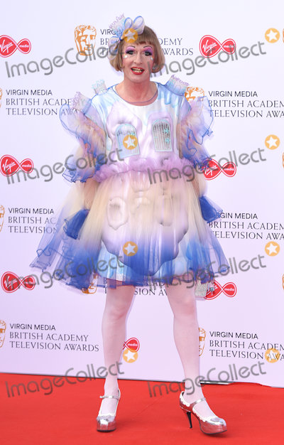 Grayson Perry Photo - London UK  Grayson Perry  at The British Academy Television Awards  2019held at  Festival Hall Belvedere Road London on Sunday 12 May 2019  Ref LMK392 -J4880-130519Vivienne VincentLandmark Media WWWLMKMEDIACOM