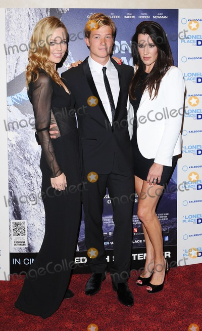 Ed Speelers Photo - London UK Melissa George Ed Speelers and Kate Magowan at A Lonely Place To Die UK Premiere held at Empire Leicester Square London 7th September 2011Eric BestLandmark Media
