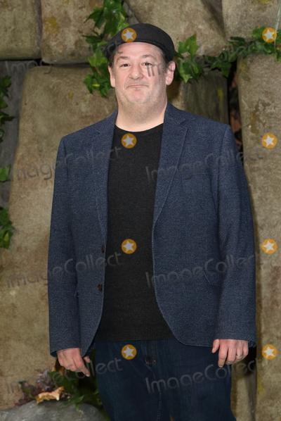 Johnny Vegas Photo - London UK Johnny Vegas at Early Man UK Film Premiere at the BFI IMAX Waterloo London on January 14th 2018Ref  LMK73-J1385-150118Keith MayhewLandmark MediaWWWLMKMEDIACOM