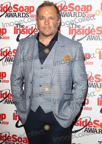 Sway Photo - London UK Dean Andrews at The Inside Soap Awards 2019 Sway Nightclub London on October 7th 2019Ref LMK73-J5563-081019Keith MayhewLandmark MediaWWWLMKMEDIACOM