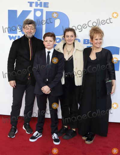 Andy Serkis Photo - London UK Andy Serkis Louis Ashbourne Serkis Ruby Serkis and Lorraine Ashbourne at The Kid Who Would Be King Gala screening at the Odeon Luxe Leicester Square London on Sunday 3rd February 2019Ref LMK73-J4290-040218Keith MayhewLandmark MediaWWWLMKMEDIACOM