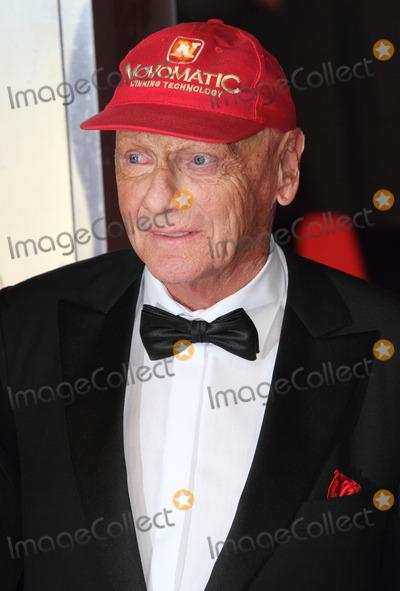 Niki Lauda Photo - London UK Niki Lauda   at the EE British Academy Film Awards 2014 (BAFTAS)  Red Carpet Arrivals at the Royal Opera House Covent Garden London 16th February 16th 2014 RefLMK73-47676-170214Keith MayhewLandmark MediaWWWLMKMEDIACOM