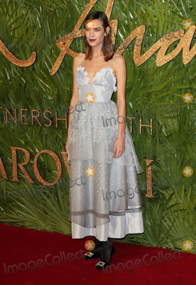 Alexa Chung Photo - London UK Alexa Chung at The Fashion Awards 2017 at the Royal Albert Hall Kensington Gore London on Monday 4 December 2017Ref LMK73-J1245-051217Keith MayhewLandmark MediaWWWLMKMEDIACOM