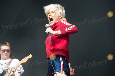 Amy Taylor Photo - London UK Lead singer Amy Taylor of Australian band Amyl and the Sniffers performs on The East Stage at The All Points East Festival 25th May 2019 RefLMK370-2500-280519Justin NgLandmark MediaWWWLMKMEDIACOM