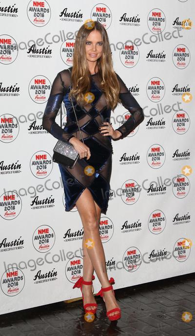 Alicia Rountree Photo - London UK Alicia Rountree at the NME Awards 2016 with Austin Texas O2 Academy Brixton Stockwell Road London UK on Wednesday 17 February 2016Ref LMK73-60002-180216Keith MayhewLandmark Media WWWLMKMEDIACOM