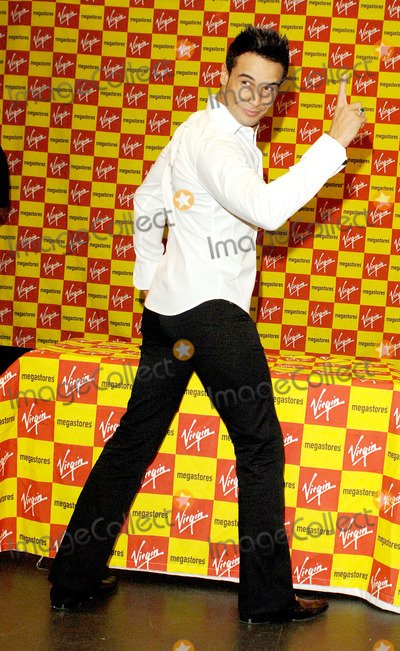 Chico Slimani Photo - London Chico celebrates the launch of his first single Its Chico Time with a signing for fans at Virgin Megastores Oxford Street27 February 2006Ali KadinskyLandmark Media