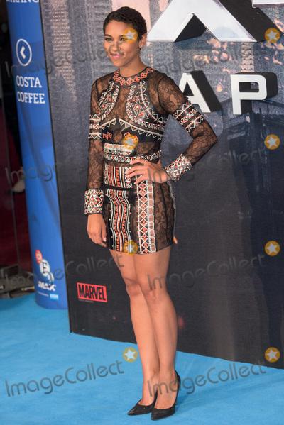Alexandra Shipp Photo - LondonUK  Alexandra Shipp   at the X -Men Apocalypse premiere BFI Imax 9th May 2016 RefLMK370-60480-100516 Justin NgLandmark MediaWWWLMKMEDIACOM