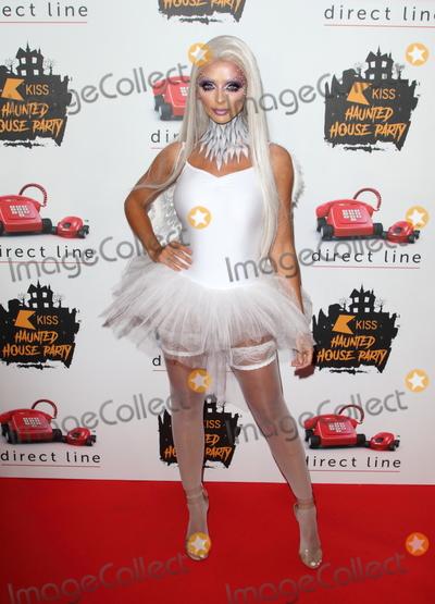 Kiss Photo - London UK Kady McDermott  at  KISS Haunted House Party  SSE Arena 26th October 2019RefLMK73-S2505-261019 Keith MayhewLandmark Media WWWLMKMEDIACOM