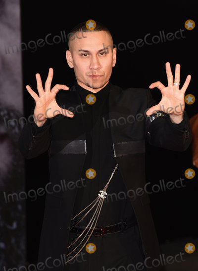The Black EYED PEAS Photo - LondonUK Taboo (The Black Eyed Peas) at the UK Premiere of  The Revenant  at the Empire Leicester Square 14th January 2016 Ref LMK392-59129-150116Vivienne VincentLandmark Media WWWLMKMEDIACOM