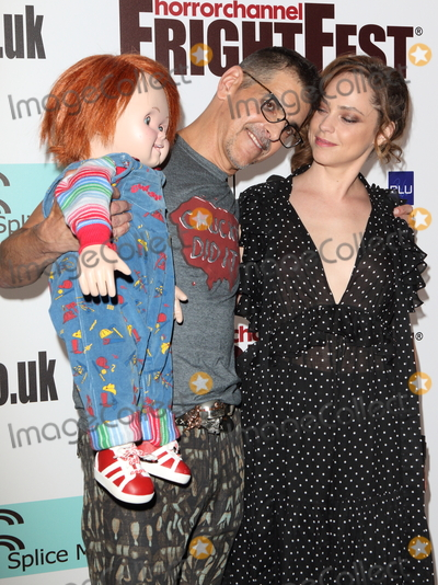 Fiona Dourif Photo - LondonUK Don Mancini and Fiona Dourif (with a Chucky Doll)   at  FrightFest Cult Of Chucky Opening Gala at the Cineworld Empire Leicester Square 24th August  2017RefLMK73-S621-250817Keith MayhewLandmark MediaWWWLMKMEDIACOM