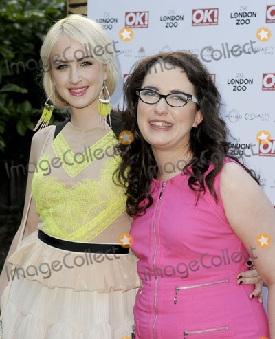 Andrea Begley Photo - London UK  Andrea Begley (R) at the OK Magazine Summer Party  Wild Tigers and Tiaras London ZooRegents Park London  25th June  2013RefLMK386-44538-260613   Gary MitchellLandmark Media WWWLMKMEDIACOM