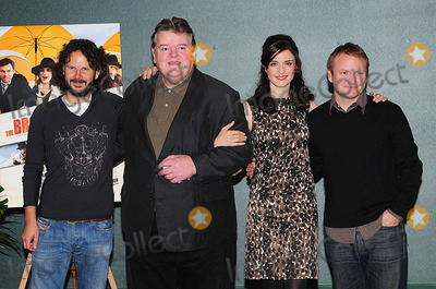 Robbie Coltrane Photo - London UK Producer Ram Bergman Robbie Coltrane Rachel Weisz and  Director Rian Johnson at the photocall ahead of The Times BFI 52nd London Film Festival screening of The Brothers Bloom held at the Sofitel in London 27th October 2008Eric BestLandmark Media