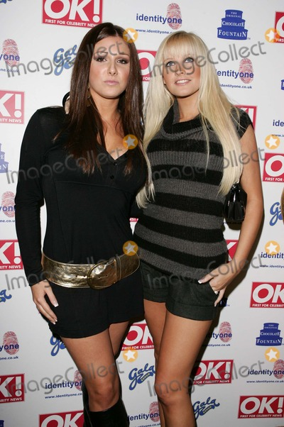 Lucy Pinder Photo - London Lucy Pinder and Michelle Marsh at the OK Magazine Christmas Karaoke Party at Papageno Restaurant Covent Garden14 December 2005Keith MayhewLandmark Media