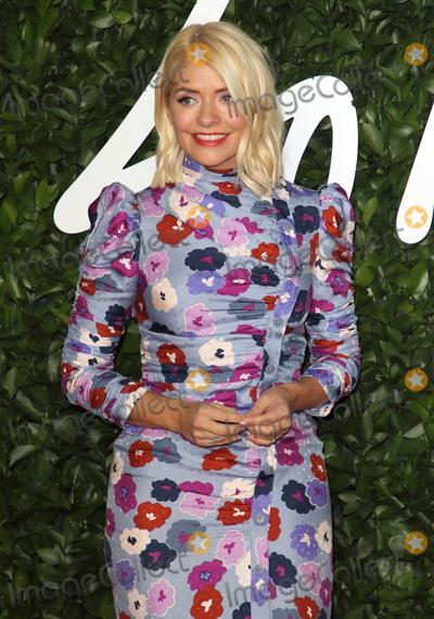 Hollies Photo - London UK Holly Willoughby at the Fashion Awards 2019 at Royal Albert Hall London December 2nd 2019 Ref LMK73-J5891-031219Keith MayhewLandmark MediaWWWLMKMEDIACOM