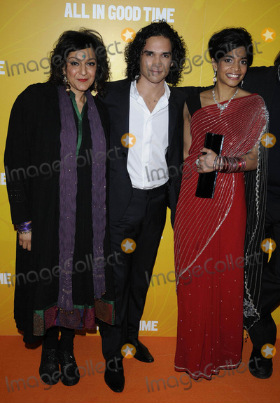 Amara Karan Photo - London UK Meera Syal Reece Ritchie and Amara Karan at the All In Good Time gala screening held at the BFI Southbank 8th May 2012Can NguyenLandmark Media