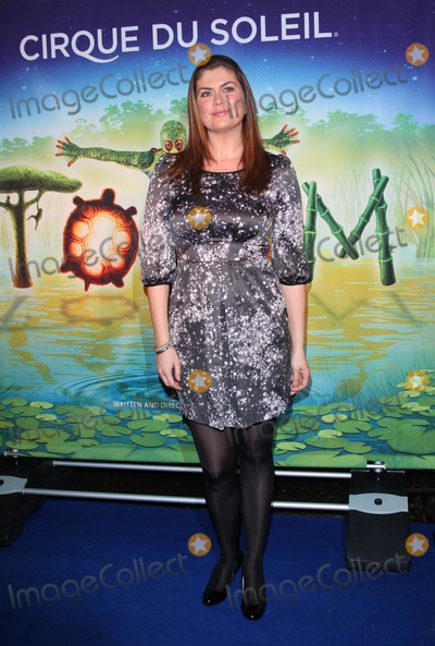 Amanda Lamb Photo - London UK Amanda Lamb at the Premiere of Cirque du Soleils Totem at the Royal Albert Hall London 5th January 2011Keith MayhewLandmark Media