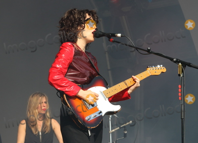 Anna Calvi Photo - London UK  Anna Calvi   performing live on stage during the All Points East Festival at Victoria Park in London 25th May 2019 RefLMK73-2480-260519Keith MayhewLandmark MediaWWWLMKMEDIACOM