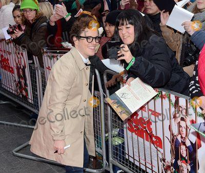 Joshua McGuire Photo - London UK  Joshua McGuire  at the Get Santa Film premiere Vue West End  30th November 2014 RefLMK392-50196-011214Vivienne VincentLandmark MediaWWWLMKMEDIACOM