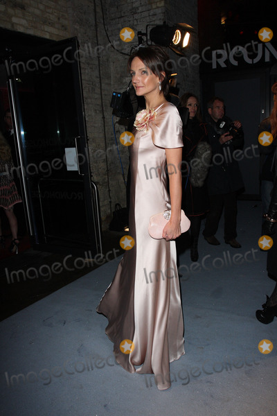 Saffron Aldridge Photo - London UK  Saffron Aldridge   at The Love Ball  The Roundhouse venue London The event was held to raise money for the charity The Naked Heart Foundation with an exhibitionof specially commissioned art work  23rd February 2010 Keith MayhewLandmark Media