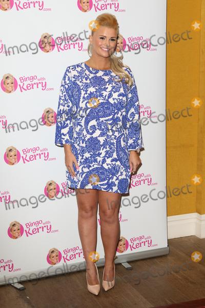 Kerry Katona Photo - London UK Kerry Katona attends the press launch of Bingo with Kerry at the Covent Garden Hotel London on the 26th January 2016 Ref LMK73-58785-270116Keith MayhewLandmark Media WWWLMKMEDIACOM