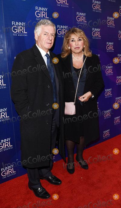Nicholas Lloyd Photo - London UK  Nicholas Lloyd and Eve Pollard at Funny Girl Press Night at The Savoy Theatre Charing Cross Road London on Wednesday 20 April 2016 Ref LMK392-60273-210416Vivienne VincentLandmark Media WWWLMKMEDIACOM