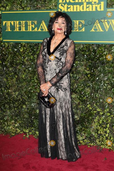 Shirley Bassey Photo - London UK Dame Shirley Bassey at London Evening Standard Theatre Awards at the Theatre Royal Drury Lane Catherine Street London on Sunday 3rd December 2017Ref LMK73-J1239-041217Keith MayhewLandmark MediaWWWLMKMEDIACOM