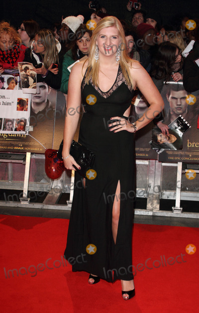 Rebecca Adlington Photo - London UK 141112Rebecca Adlington  at the Twilight Saga Breaking Dawn Part 2 UK premiere held in Leicester Square10 November 2012Keith MayhewLandmark Media