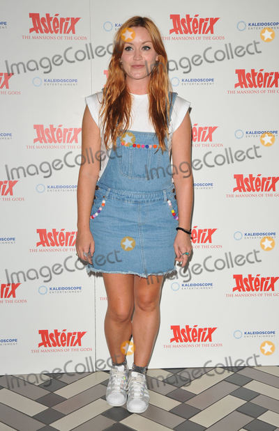 Arielle Free Photo - London UK  Arielle Free   at the Asterix and Obelix Mansion of the Gods gala film screening Picturehouse Central Corner of Shaftesbury Avenue  Great Windmill Street  7th August 2016 Ref LMK315-61258-080816Can NguyenLandmark Media WWWLMKMEDIACOM