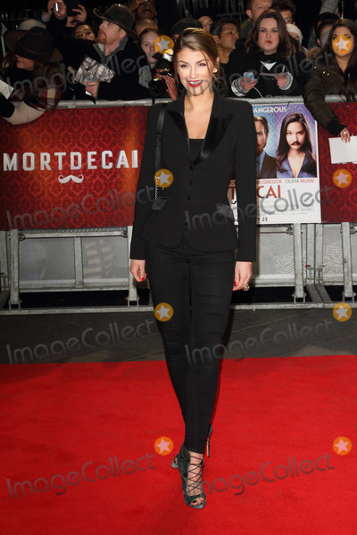 Amy Willerton Photo - London UK Amy Willerton at Mortdecai UK Film Premiere at the Empire Leicester Square London on January 19th 2015 Ref LMK73-50448-200115Keith MayhewLandmark Media WWWLMKMEDIACOM