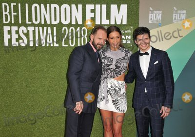 Adele Exarchopoulos Photo - London UK Ralph Fiennes Adele Exarchopoulos and Oleg Ivenko  at the The White Crow Create film gala 62nd BFI London Film Festival 2018 Embankment Garden Cinema Villiers Street London England UK on Thursday 18 October 2018Ref LMK315-J2813-191018Can NguyenLandmark MediaWWWLMKMEDIACOM