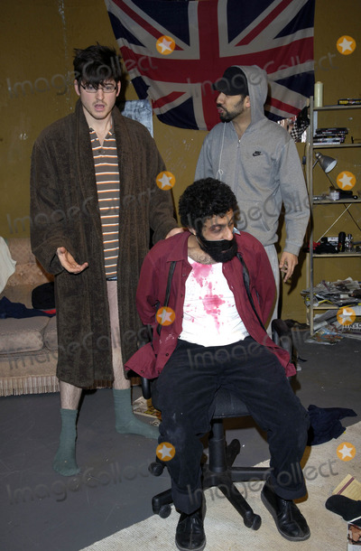 Adeel Akhtar Photo - London UK James Alexandrou Adeel Akhtar and Ray Panthaki star in the Yaller Skunk Theatre production In My Name at the Old Red Lion Theatre in Islington London25 March 2008Can NguyenLandmark Media