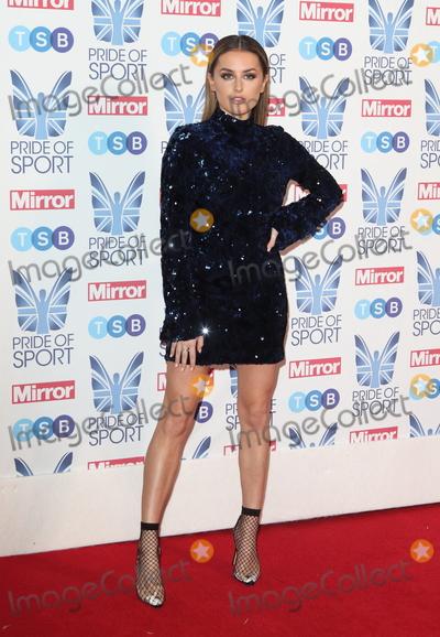 Amber Davies Photo - London UK  Amber Davies at The Mirror Pride of Sport Awards at Grosvenor House Park Lane London on Thursday 06 December 2018Ref LMK73-J4001-071218Keith MayhewLandmark MediaWWWLMKMEDIACOM